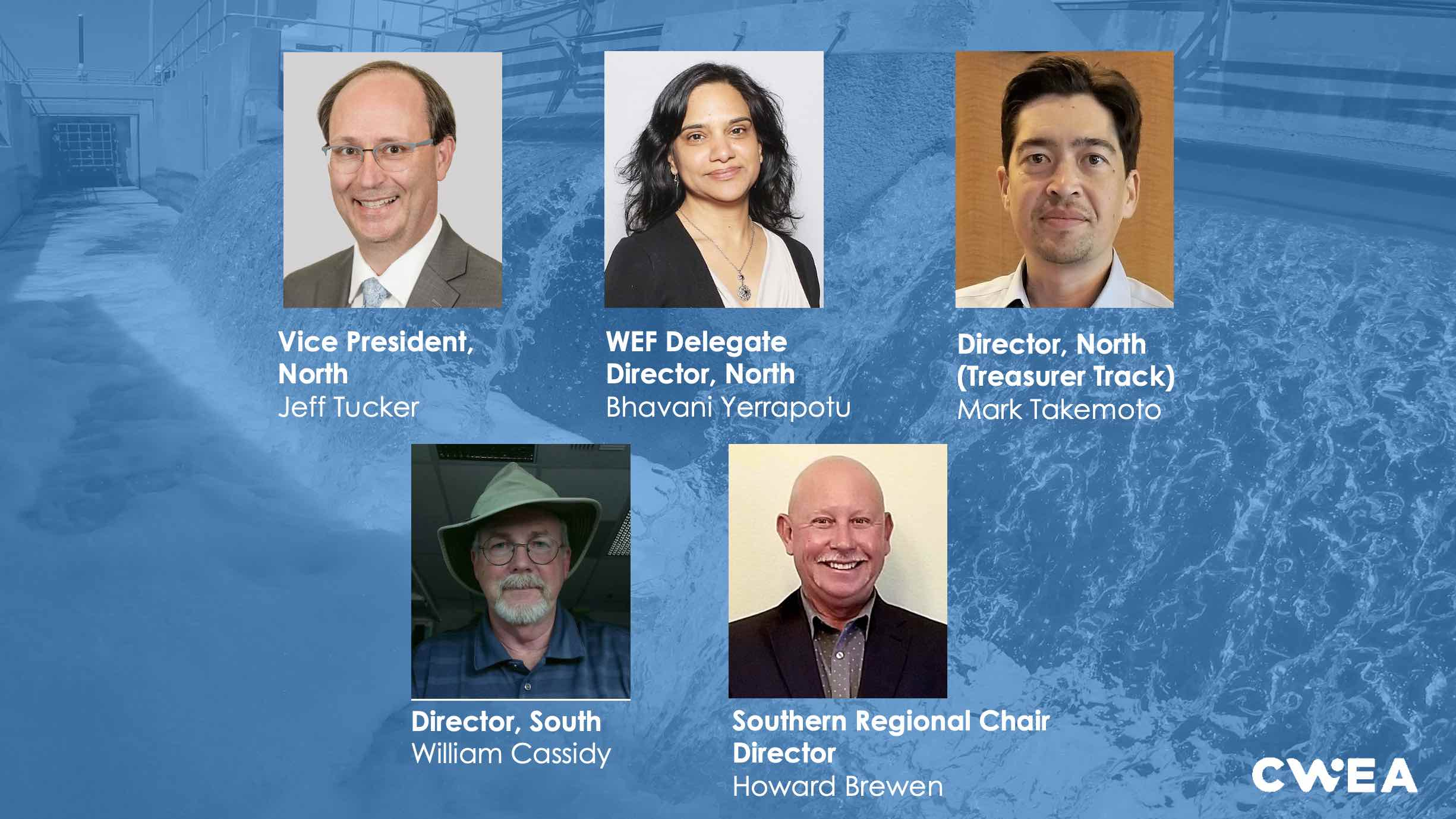 2021-2022 CWEA Board of Directors Nominees